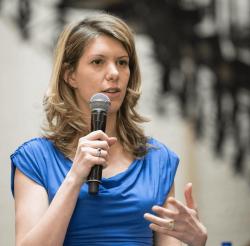 Belga - Els Ampe: Stad Brussel heeft nieuw verhaal nodig