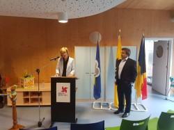 Inhuldiging nieuwe crèche in Sint-Jans-Molenbeek