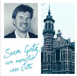 Sven Gatz, een minister voor Jette
