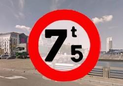 Stad Brussel weert grote vrachtwagens uit centrum