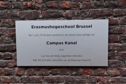 Eerstesteenlegging nieuwe campus Erasmushogeschool Brussel