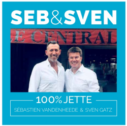 Seb & Sven, cafébaas & minister gaan samen 100% voor Jette.