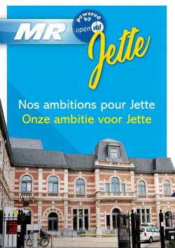 MR powered by Open Vld Jette: Onze ambitie voor Jette
