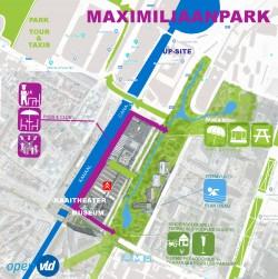 Els Ampe wil heraanleg Maximiliaanpark met open Zenne