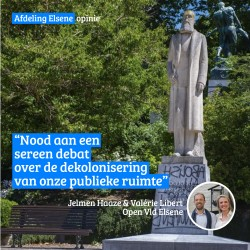 Opinie: Nood aan een sereen debat over de dekolonisering van onze publieke ruimte