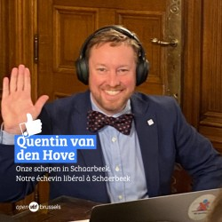 Quentin van den Hove legt eed af als schepen