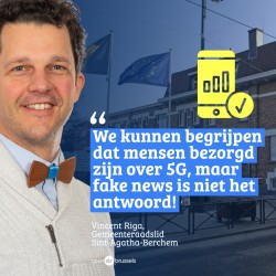 AFDELING ST-AGATHA-BERCHEM - Vincent Riga 'We laten het politiek debat niet kapen door complotdenkers'