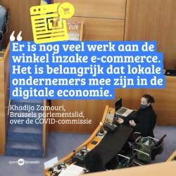 Khadija Zamouri over Brusselse COVID-aanbevelingen:  Corona legt digitale kloof pijnlijk bloot