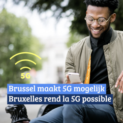 Brusselse regering maakt 5G mogelijk!